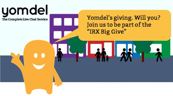 Yomdel is leading the Internet Retailing Expo IRX Big Give campaign